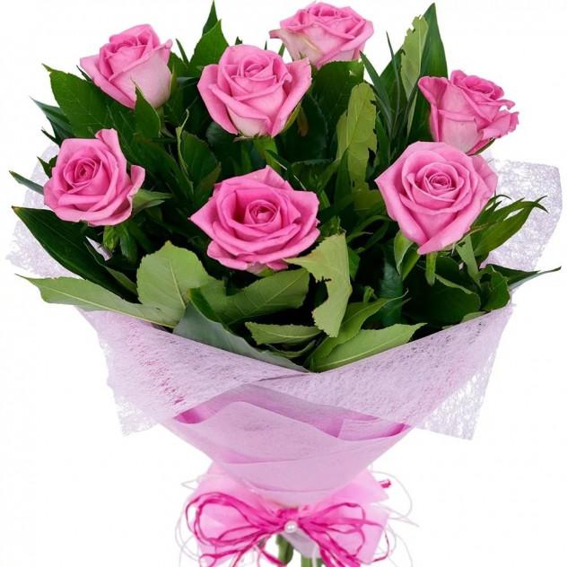 Букет из 7 роз № 5